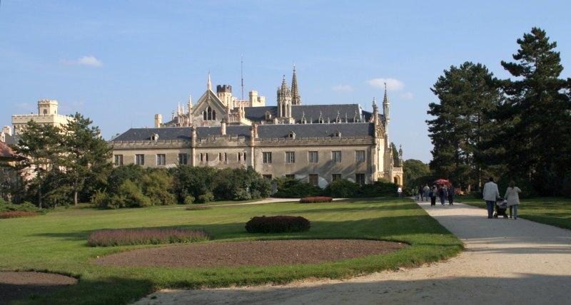 Lednice Schloss 06