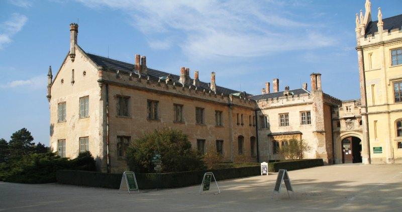 Lednice Schloss 07
