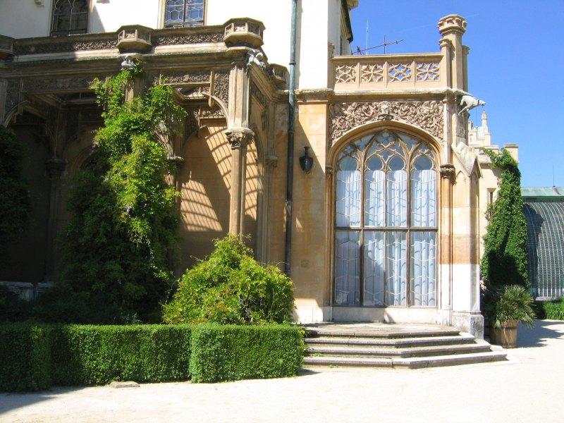 Lednice Schloss Detail 3