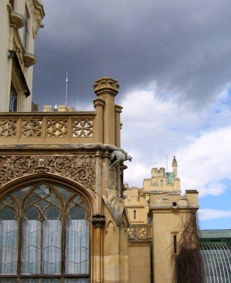 Lednice Schloss Detail